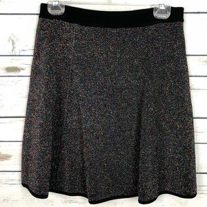 NWT Catherine Malandrino medium knit sparkle skirt